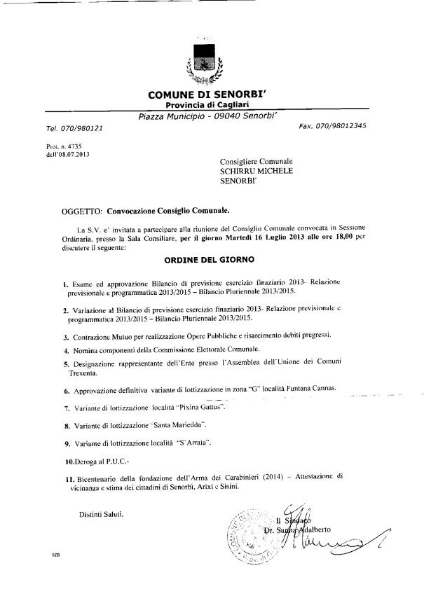 ODG Consiglio 16 luglio